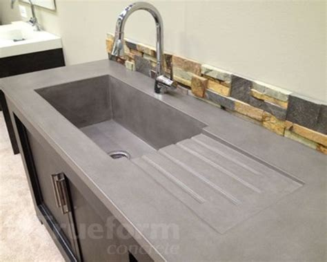 Can I Pour Olive The Sink by Concrete Sinks Countertops You Can Do Any Color You Like