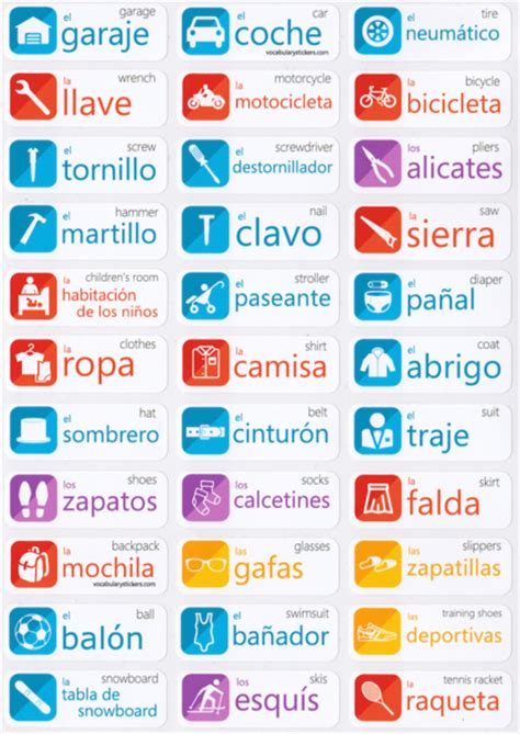 libro talk spanish grammar spanish language stickers vocabularystickers