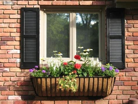 Wrought Iron Planters Window Boxes by 1000 Ideas About Wrought Iron Window Boxes On