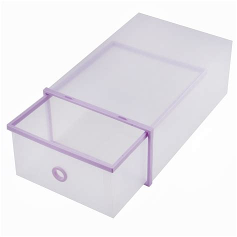 stackable storage boxes with drawers foldable clear plastic drawer case shoe storage stackable
