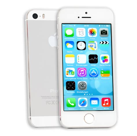 P Iphone 5s Iphone 5s 16 Gb Silber Me433dn A 16gb