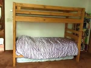 Used Toddler Beds Ebay Cargo Solid Wood Bunk Beds Ladder Mattresses Dresser