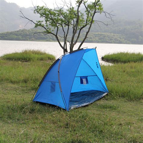 affordable backyard tents blue and green outdoor canopy fishing shelter cheap price