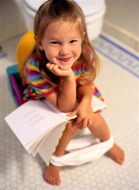 girl on toilet potty training potty training girls 13 tips before start potty training