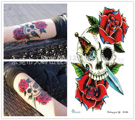 tattoo prices portugal comparar pre 231 os de rose flower tattoos compras on line