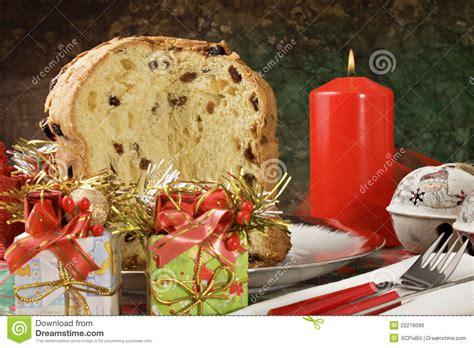 panettone italian xmas cake royalty free stock images