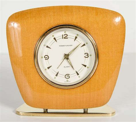 Desk Clocks Modern Mid Century Modern Desk Clock At 1stdibs
