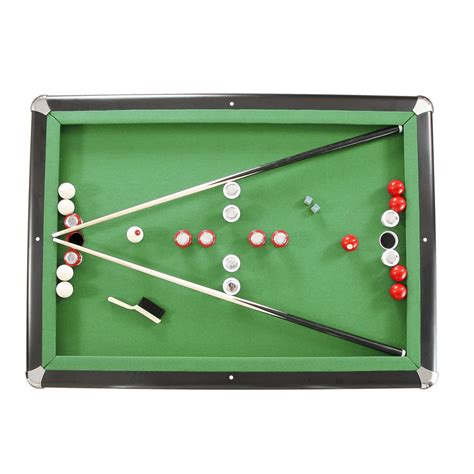 bumper pool table parts renegade 54 in slate bumper pool table
