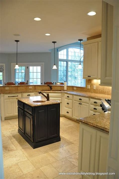 Different Color Kitchen Cabinets Island Different Color Than Cabinets Kitchen