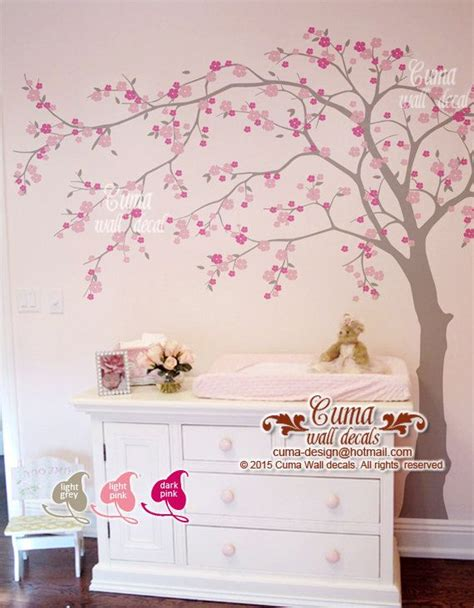 wall stickers cherry blossom 25 best ideas about flower wall decals on