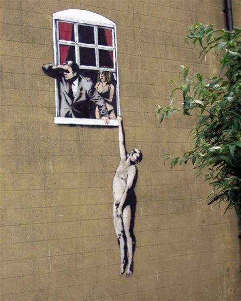 amazing pieces  street art  banksy