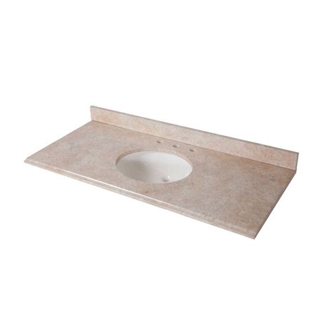 Effects Vanity Top by 49 In X 22 In Effects Vanity Top In Oasishome
