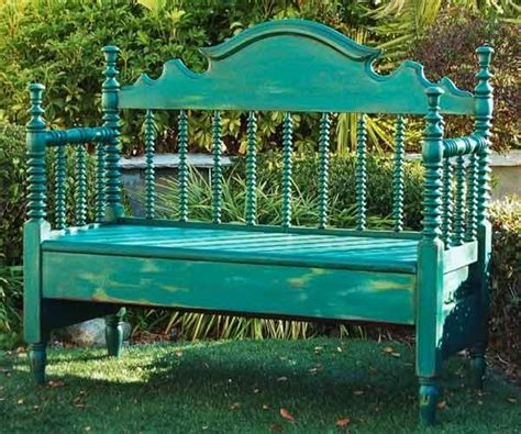 bench made from bed 1000 ideas about old bed frames on pinterest old beds