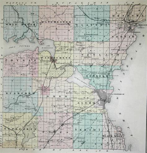 Winnebago County Search Winnebago County Wi Map My