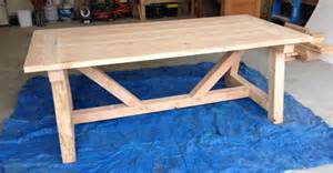 build a farmhouse woodworkpdfplans how to build a farm table plans free pdf download