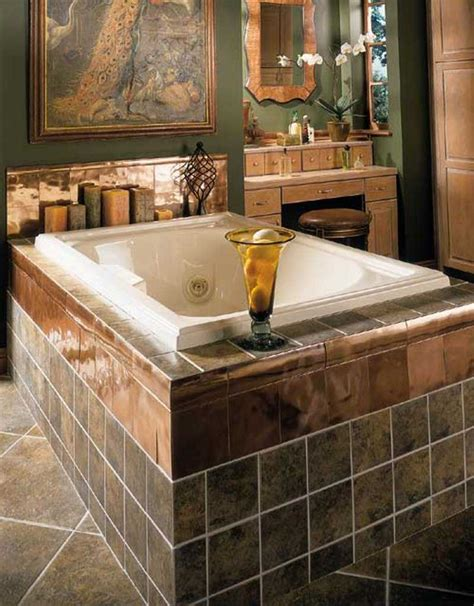 bathroom bathtub ideas 30 beautiful pictures and ideas high end bathroom tile designs