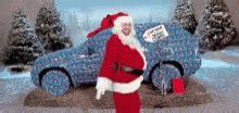 christmas santa gif christmas santa dancing discover share gifs