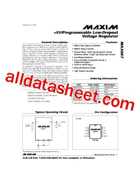 maxim integrated products chelmsford ma max667csa データシート pdf maxim integrated products