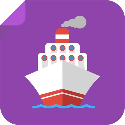 boat icon png boat icon square iconset flat icons