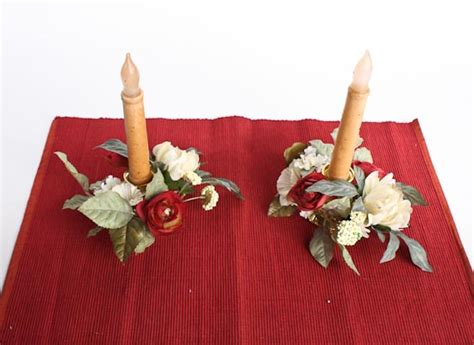 christmas heirloom taper candle rings candles and