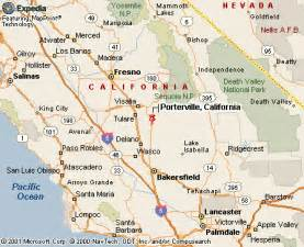 porterville california map porterville ca pictures posters news and on
