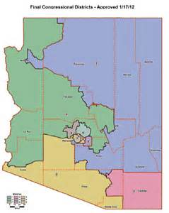arizona congressional districts map see us house