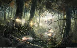 Fantasy Wallpaper by Fantasy Forest Wallpapers Wallpaper Cave