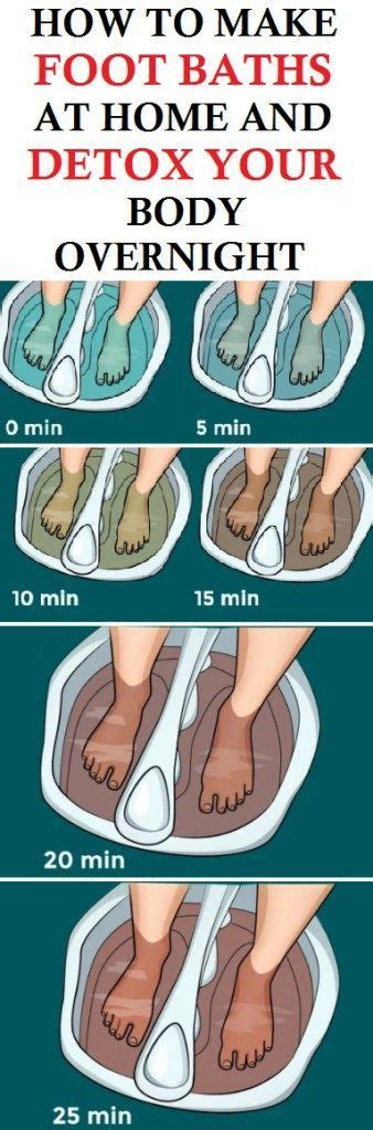 At Home Detox by How To Make Foot Baths At Home And Detox Your