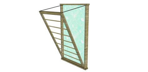 ballard design drying rack build a ballard designs beadboard drying rack designs by