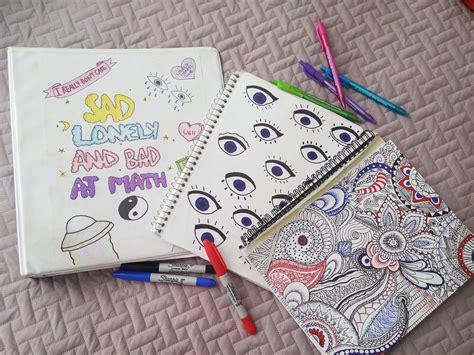 decorar cuadernos para decora tus cuadernos estilo tumblr caratulas pinterest