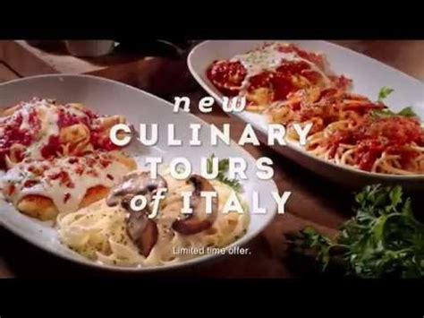 Olive Garden Commercial by Tv Commercial Spot Olive Garden Tours Of Italy