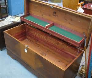 chest with shelves a resale wwii era cedar chest with shelf