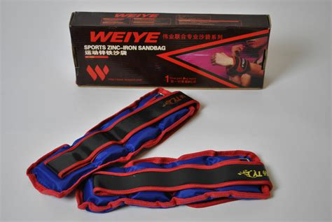 best exercise bracelet weiye ankle wrist 2kg weight adjustable exercise