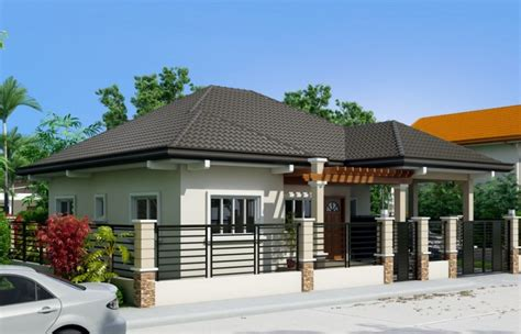 Pinoy House Design clarissa one story house with elegance pinoy eplans