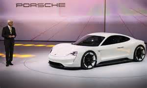 new porsche electric car porsche s new mission e electric car better than a tesla
