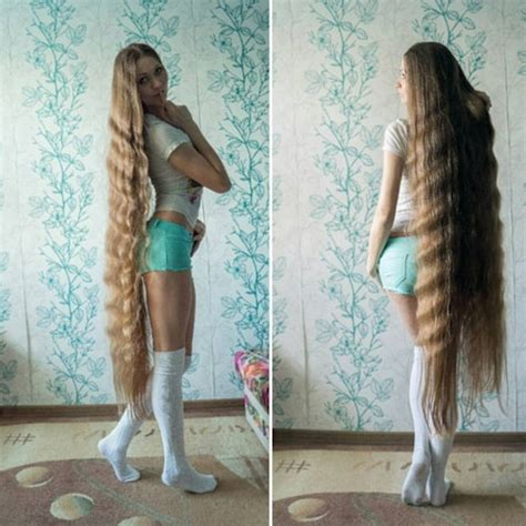 real like rapunzel has 64 inch hair she refuses to get cut real life rapunzel has been growing her hair for 13