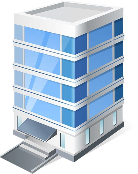 Apartment Guide Corporate Office Free Vector Graphic Building Office Vista Free Image