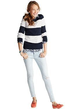 skinny jeans boots on pinterest nautical womens women s clothes featured outfits outfits we love old