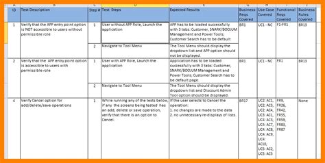 uat template excel writing test cases from srs document