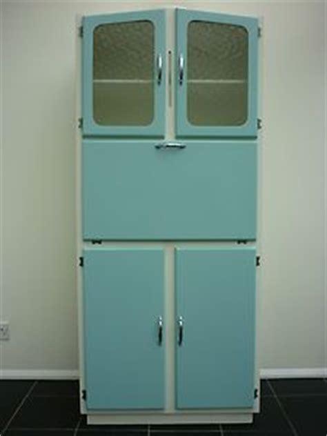 Kitchenette Cupboard Vintage Kitchen Larder Cabinet Freestanding Kitchenette