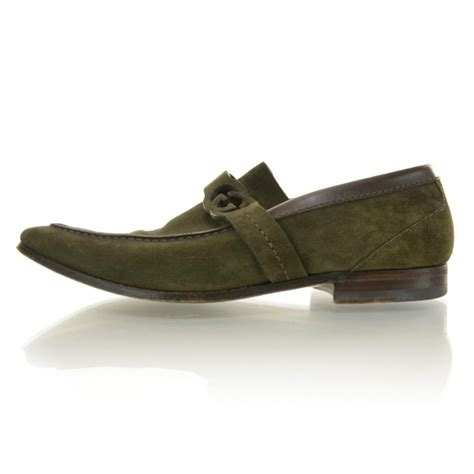 green gucci loafers gucci mens suede loafers 40 green