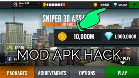 new apk mod sniper 3d assassins gun shutter mod apk new updated hack no root hckonline