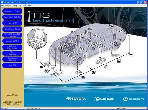 Toyota Techstream Toyota Techstream V8 11 006 6 2013 Toyota Tis Free