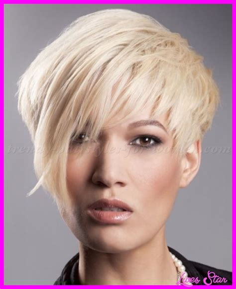 popular haircuts and styles pictures of short asymmetrical hairstyles livesstar com