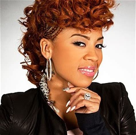 keyshia cole short mohawk hairstyles raw hollywood keyshia cole reveals quot woman to woman