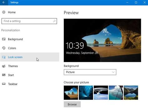 choosing windows how to use and tweak your windows 10 lock screen pcmag com