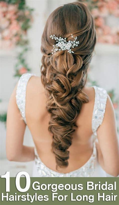 diy hairstyles for long hair for weddings top 10 gorgeous bridal hairstyles for long hair diy