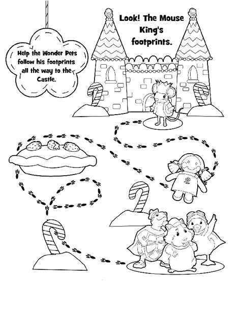 coloring pages of the wonder pets wonder pets coloring in pages