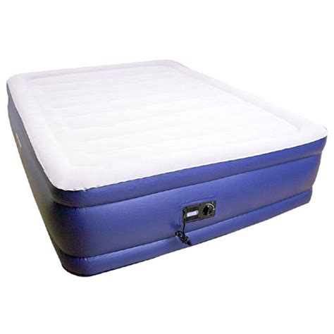 Fold Out Air Mattress by Deluxe 20 Quot Raised Air Mattress With Built In 600 Lbs