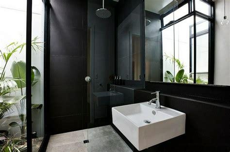 es bathrooms negro gris y marr 243 n en el cuarto de ba 241 o 50 dise 241 os